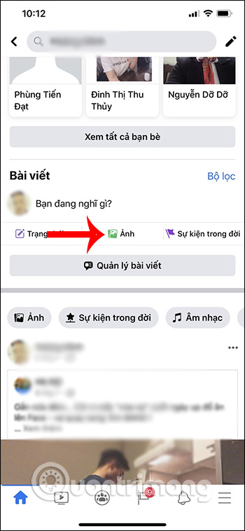 Cách đăng ảnh Facebook theo bố cục