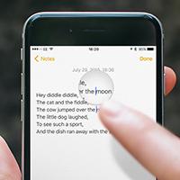 Cách phóng to một phần ảnh trên iPhone