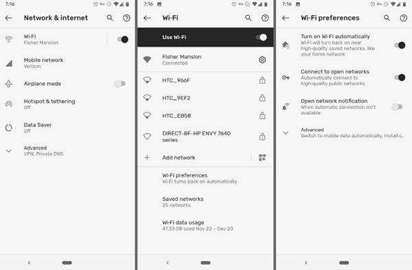 15 thủ thuật, mẹo sử dụng Google Pixel không thể bỏ qua Kết nối VPN
