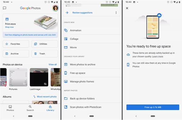 15 thủ thuật, mẹo sử dụng Google Pixel không thể bỏ qua Sao lưu ảnh và video trên Google Photos