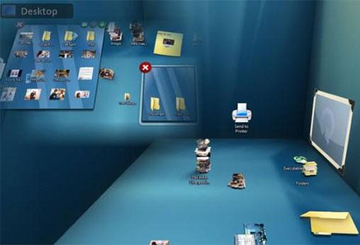 Sắp xếp các biểu tượng desktop vào các thư mục