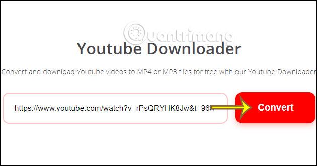 Paste URL video