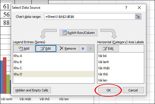Cách đổi tên chuỗi dữ liệu trong biểu đồ Excel - Ảnh minh hoạ 5