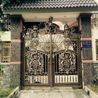 Các mẫu cổng nhà đẹp ở nông thôn thiết kế đơn giản, tiết kiệm chi phí