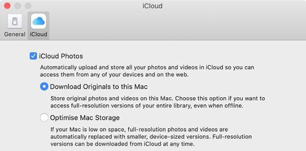 Cách download ảnh từ iCloud
