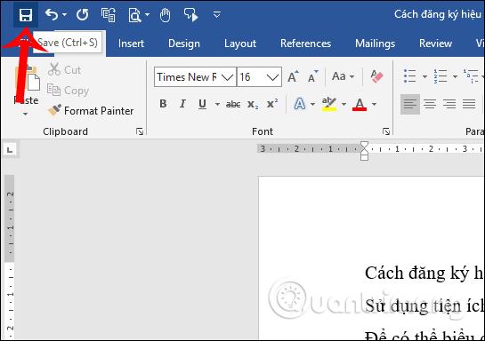 Hướng dẫn mở và lưu văn bản Word - Ảnh minh hoạ 7