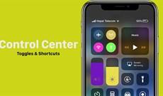 Cách điều chỉnh Control Center trên iPhone, iPad