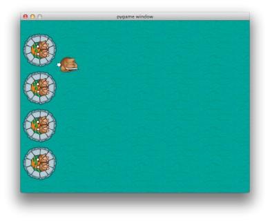 """code game """"Thỏ chiến binh"""" bằng Python"""