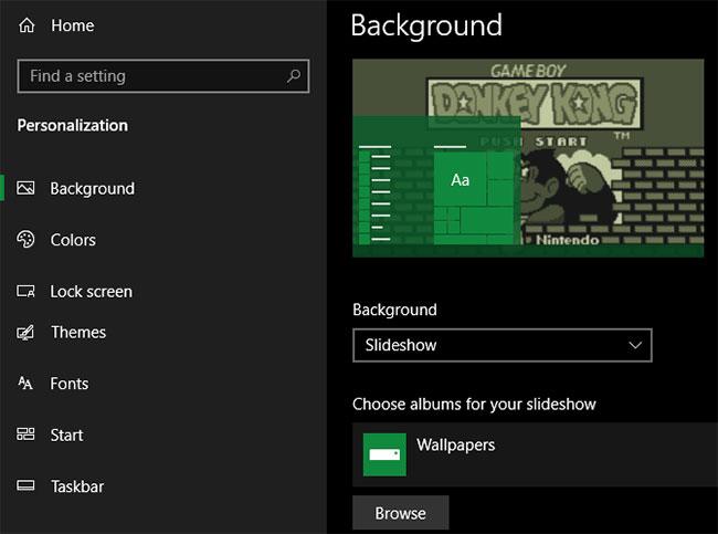 Cá nhân hóa Windows 10