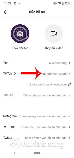 Cách đổi tên TikTok, đổi TikTok ID - Ảnh minh hoạ 4