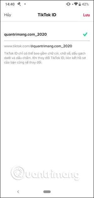 Cách đổi tên TikTok, đổi TikTok ID - Ảnh minh hoạ 5