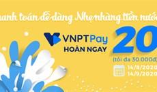 Cách thanh toán hóa đơn tiền nước trên VNPT Pay