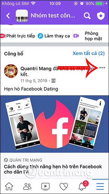 Cách ghim bài viết Fanpage, group Facebook - Ảnh minh hoạ 10