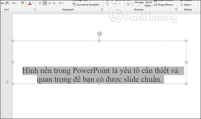 Cách sao chép nhanh định dạng slide PowerPoint - Ảnh minh hoạ 3
