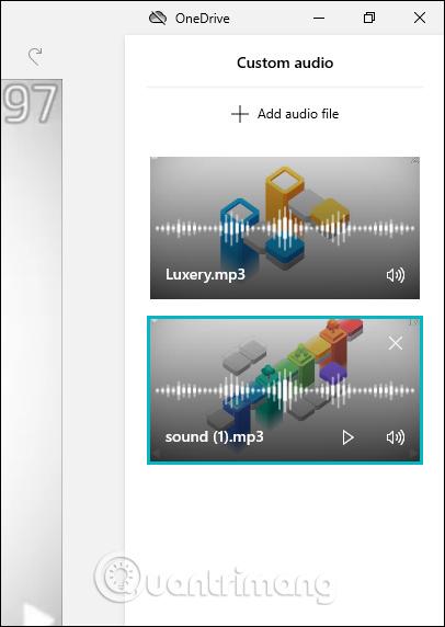 Danh sách audio