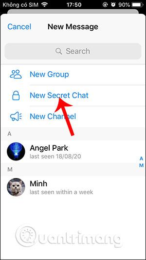 Tin nhắn bí mật