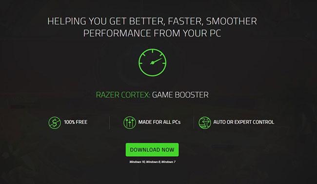 Phần mềm Game Booster sẽ tạm dừng các tiến trình chạy trong nền khi chơi game
