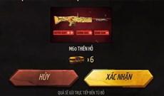 Nhận M60 Thiên Hồ Free Fire với event Xuyên Giáp Đoạt Kill