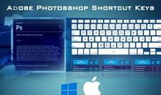 Cách cài phím tắt trong Photoshop