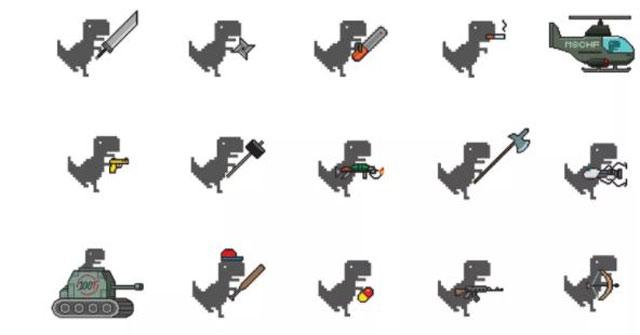 Hệ thống vũ khí mới của khủng long