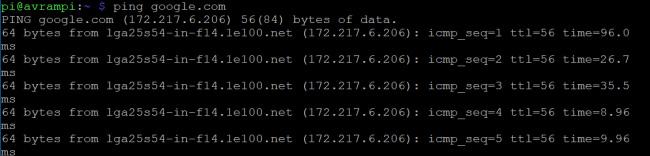 Lấy địa chỉ IP của Raspberry Pi với hostname
