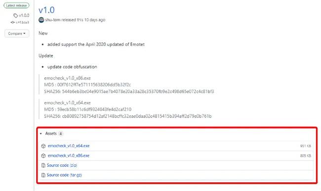 Cách kiểm tra PC có bị nhiễm phần mềm độc hại Emotet không