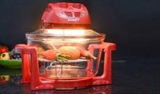 Lò nướng thủy tinh halogen có nướng bánh được không?