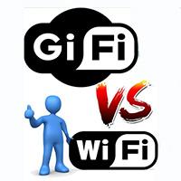 Sự khác biệt cơ bản giữa GiFi và WiFi