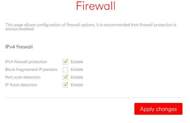 Tường lửa có thể là phần cứng hoặc phần mềm