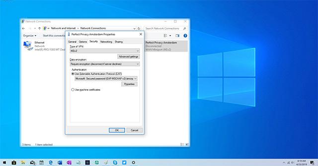 Cách thiết lập IKEv2 IPsec trên Windows