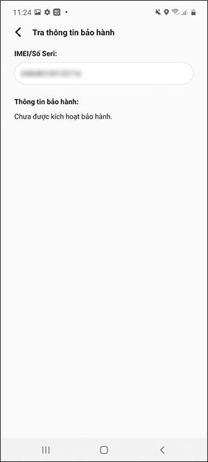 Hướng dẫn kiểm tra điện thoại Samsung chính hãng