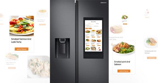 Tủ lạnh Samsung Family Hub.