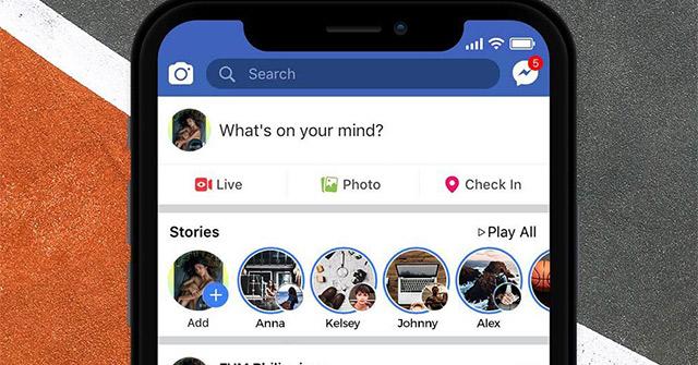 Cách lưu Story của người khác trên Facebook