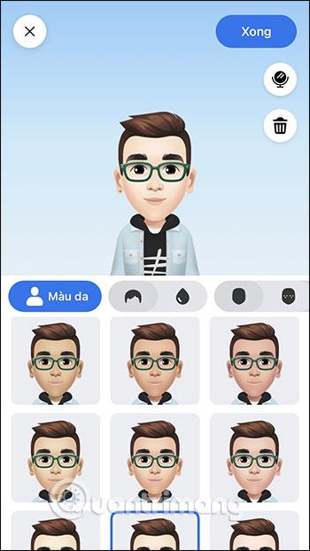 Cách tạo avatar cho riêng mình, tự tạo sticker Messenger, tạo avatar Facebook - Ảnh minh hoạ 12