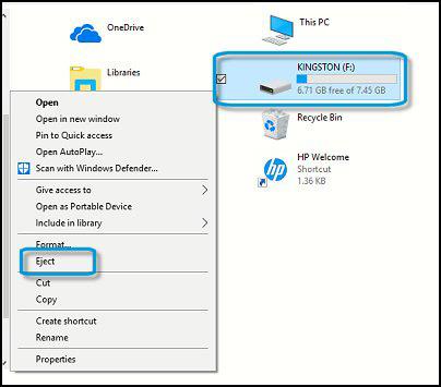 Những cách rút USB an toàn - Ảnh minh hoạ 7