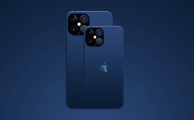 iPhone 12 in Dark Blue color