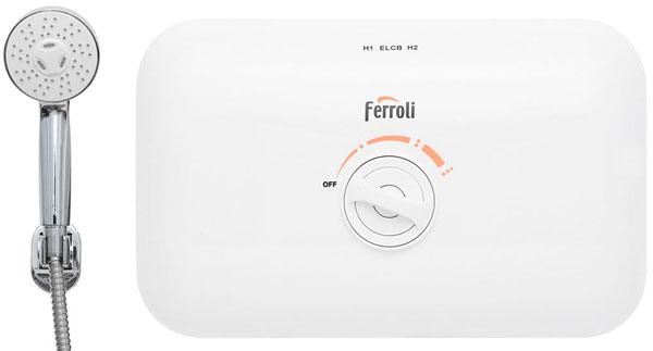 Bình nóng lạnh trực tiếp Ferroli Rita FS-4.5 TE