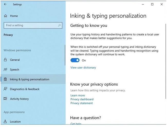 Kiểm soát quyền riêng tư trên máy tính Windows 10 với 17 thủ thuật sau đây - Ảnh minh hoạ 16