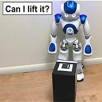 Công nghệ mới cho phép robot xác định xem chúng có thể nâng được một vật thể hay không?
