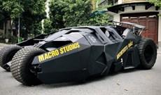 Sinh viên Việt chế tạo xe Batmobile cực đỉnh, có thể di chuyển và mở cửa kiểu cánh dơi