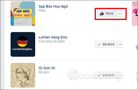 Cách xem các Page đã thích trên Facebook - Ảnh minh hoạ 6
