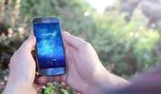 Cách tạo hình nền điện thoại hiệu ứng galaxy theo tên