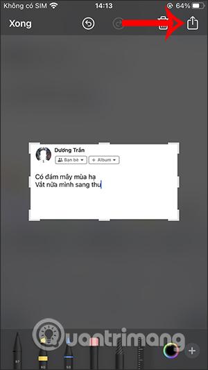 Cách viết status Facebook lên ảnh - Ảnh minh hoạ 2