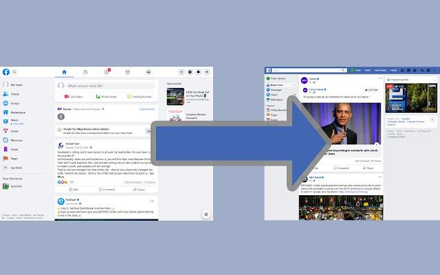 Cách quay trở lại giao diện Facebook cũ
