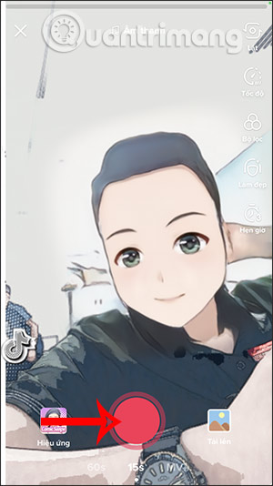 Cách làm video TikTok biến hình anime - Ảnh minh hoạ 3