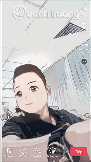 Cách làm video TikTok biến hình anime - Ảnh minh hoạ 5