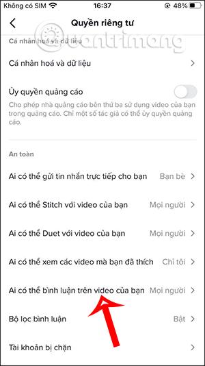 Cách chặn bình luận TikTok, khóa bình luận video TikTok - Ảnh minh hoạ 6