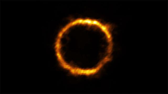 Thiên hà SPT0418–47 mà nhà thiên văn tại ALMA quan sát được