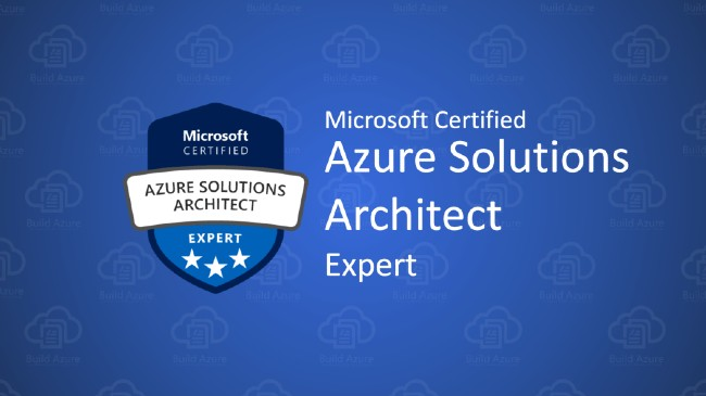 Certified Azure Solutions Architect