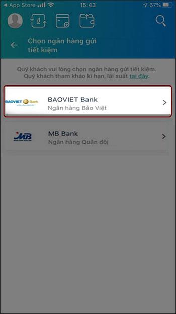 Cách gửi tiết kiệm online trên ViettelPay